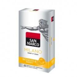 Achat café fin et doux ? Essayez le « Milano » de la marque San Marco !