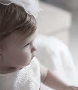 Baptême d'une petite fille
