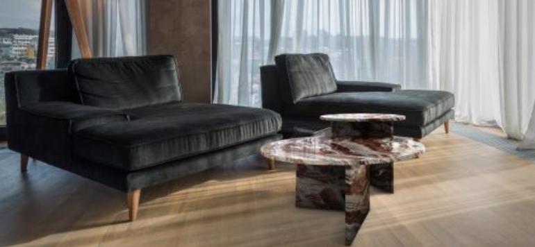 choham mobilier haut de gamme marbre
